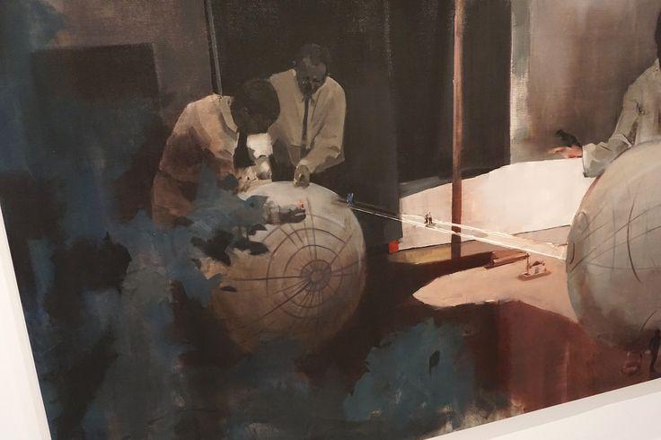 """""""Destino"""" (Detalle) """"El Gran Estudio. Nacho Martín Silva"""" en el  Centro de Arte de Alcobendas. #Madrid #ArteContemporáneo #ContemporaryArt #Art #Arte #Arterecord 2016 https://twitter.com/arterecord"""