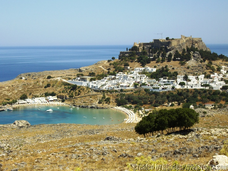 Lindos - The East Coast Rhodes Island Greece