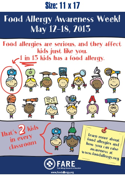 161 best food allergies images by nurse tammy on pinterest food food allergy awareness week top 8 free recipes infographics news 1 in 13 kids has a food allergy forumfinder Choice Image