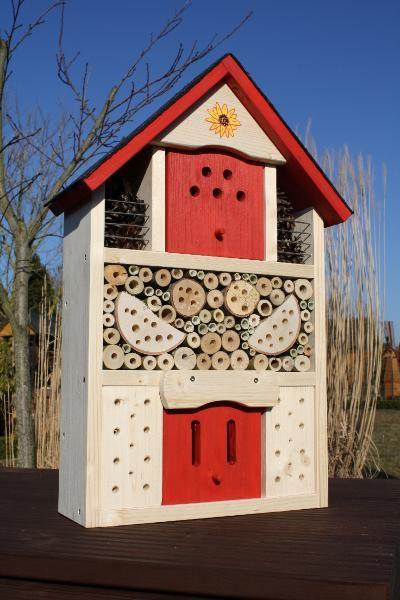 Bienenhotel , Insektenhotel für viele Insektenarten , Insektenhaus