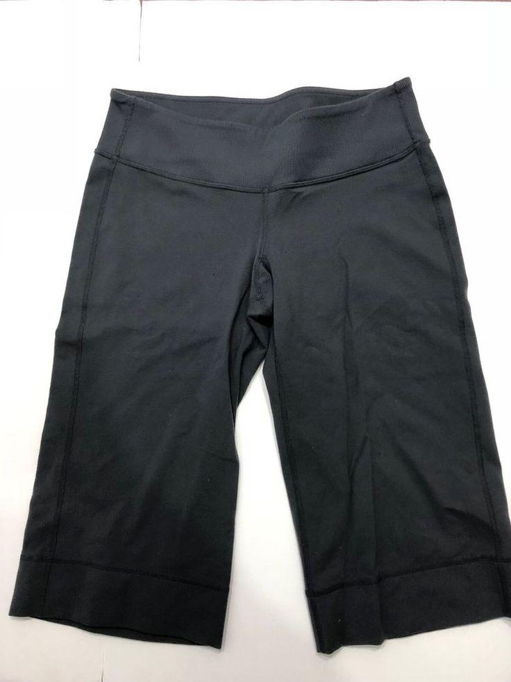 Lululemon Clam Diggers Size 6 Grey  | eBay