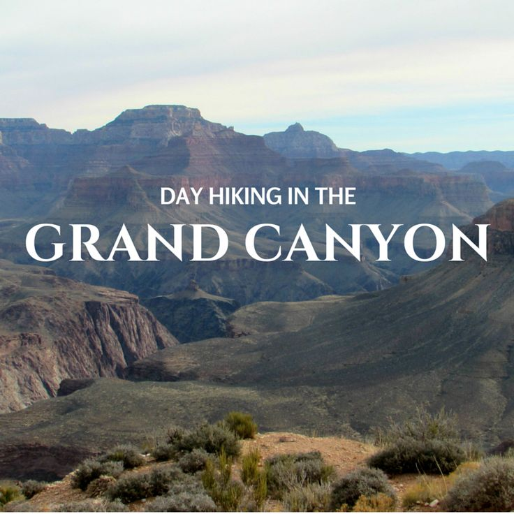 Day Hiking in the Grand Canyon -- Arizona, USA Travel. US National Parks.