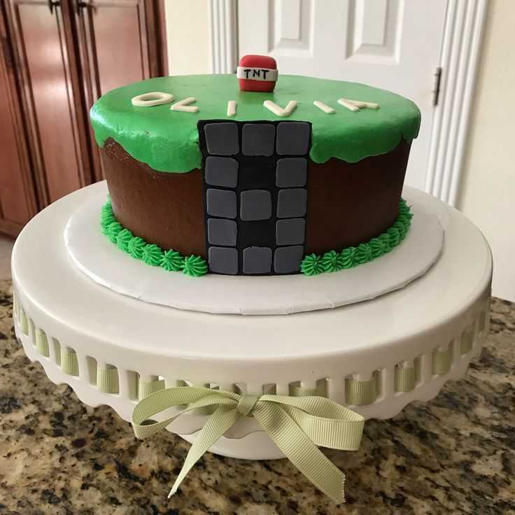 813 best my cakes images on pinterest mine craft gluten free birthday cake httpsfacebook publicscrutiny Choice Image