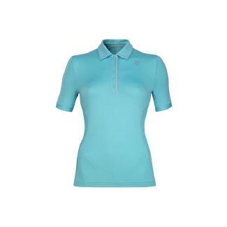 K-Swiss Women's Short Sleeve Polo Accessories (Capri/Highrise)- 19.5 OT