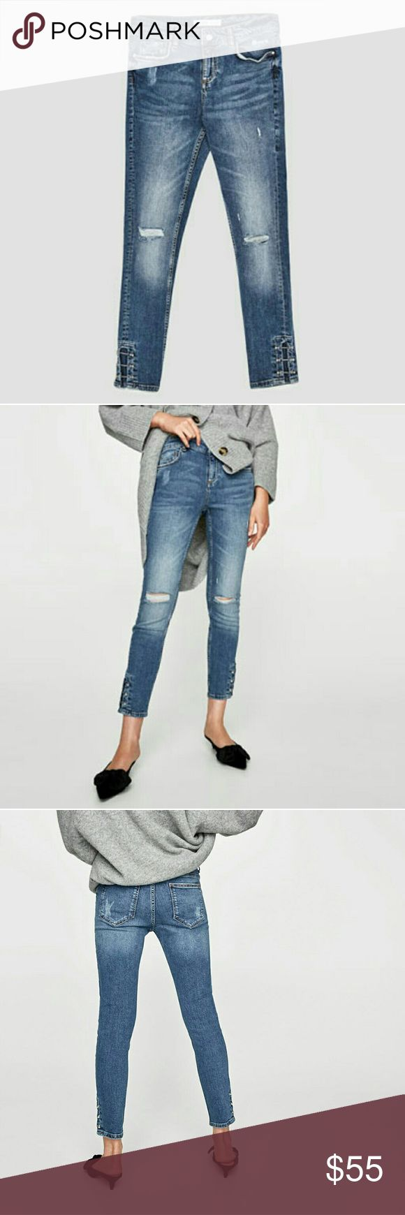 One day sale! Zara jeans(PRICE IS FIRM) Brand new.  Reduced from $55. NO.OFFERS Zara Jeans Skinny