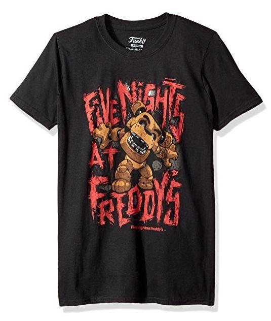 Funko Pop! Five Nights at Freddy's Freddy Fazbear T-Shirt (affiliate link)
