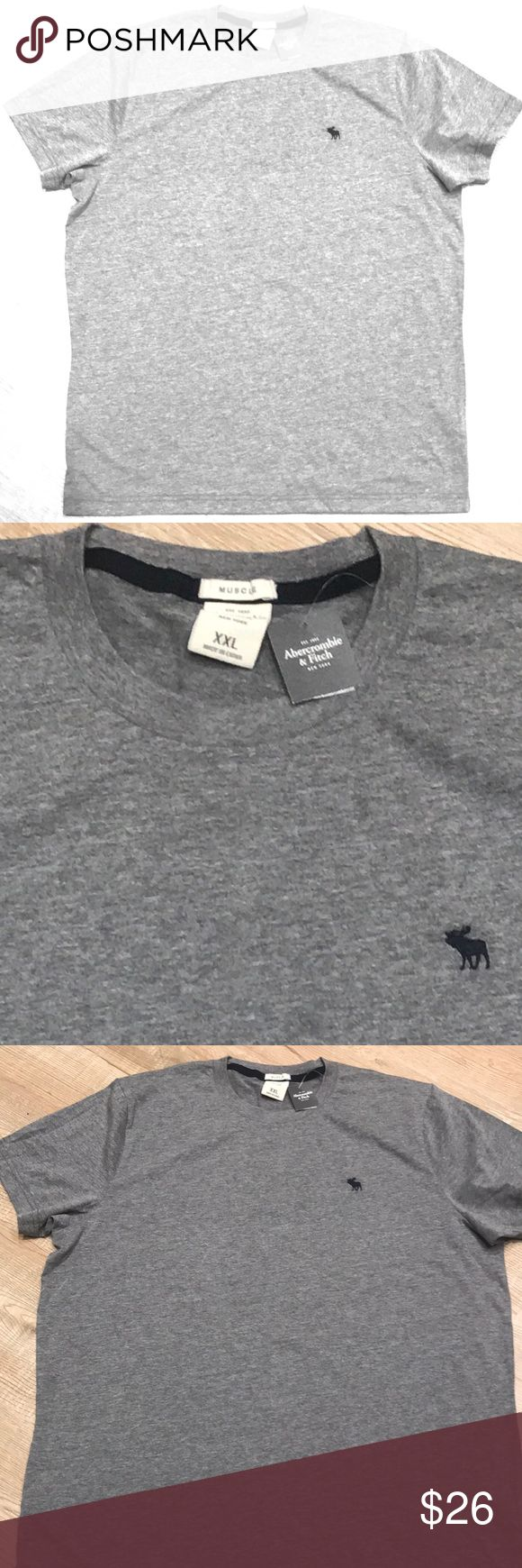 Abercrombie men's Gray T-Shirt Brand new men's Abercrombie Gray T-shirt.  Great for a casual day! Look stylish! Abercrombie & Fitch Shirts Tees - Short Sleeve