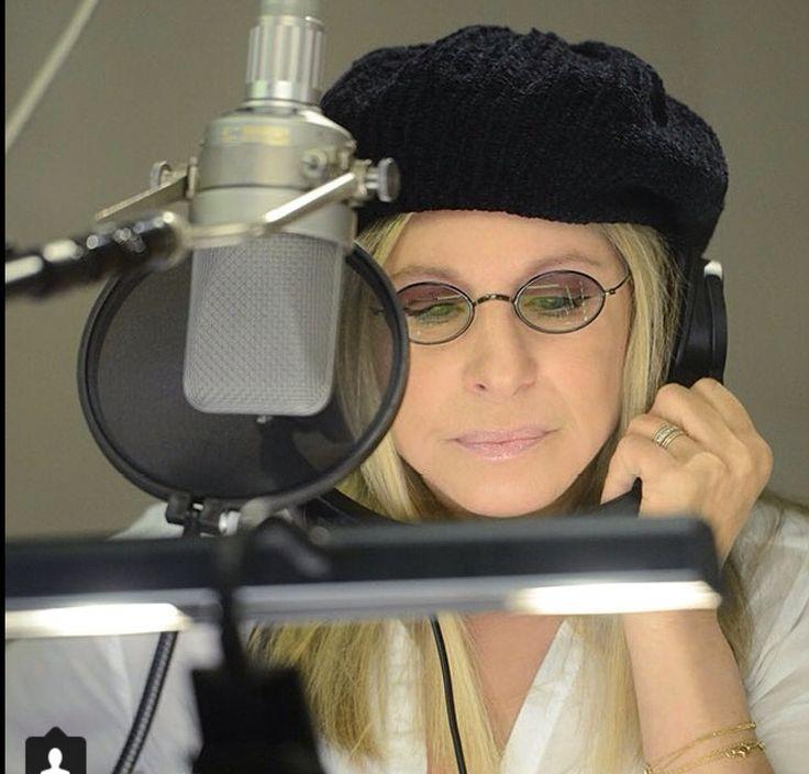 """Perfection, Streisand recording her new album, """"Partners""""."""