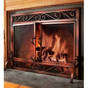26 Best Images About Iron Fireplace Screens On Pinterest
