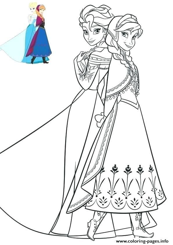 Elsa Frozen Coloring From En Coloring Pages Best Images On ...