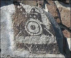 Oregon Territory America Rock Art Petroglyphs Pictographs (12,000 photographs in the galleries)