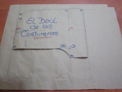 EL BAÚL DE LAS COSTURERAS: Pantalón corto (Short) para niña. Trazado del patrón