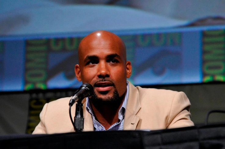 Boris Kodjoe - Comic-Con 2012