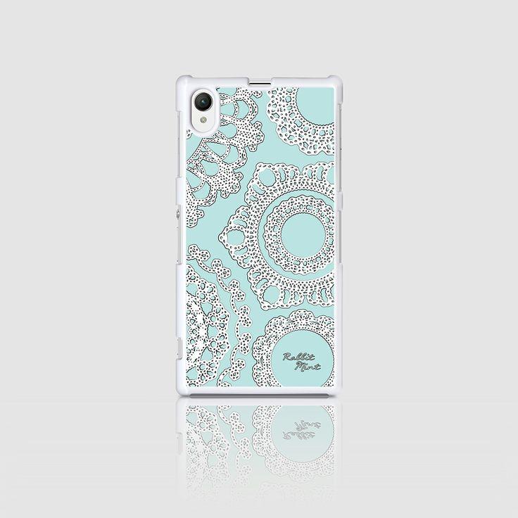Sony Xperia Z1 Case - Lace & Mint