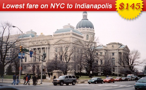 Air Fares Flight Ticket Booking to and from Indianapolis Book Cheap Flights Tickets from Indianapolis with AirFareMall Com We offer Great airfare deals on International and Domestic Flight Bookings .