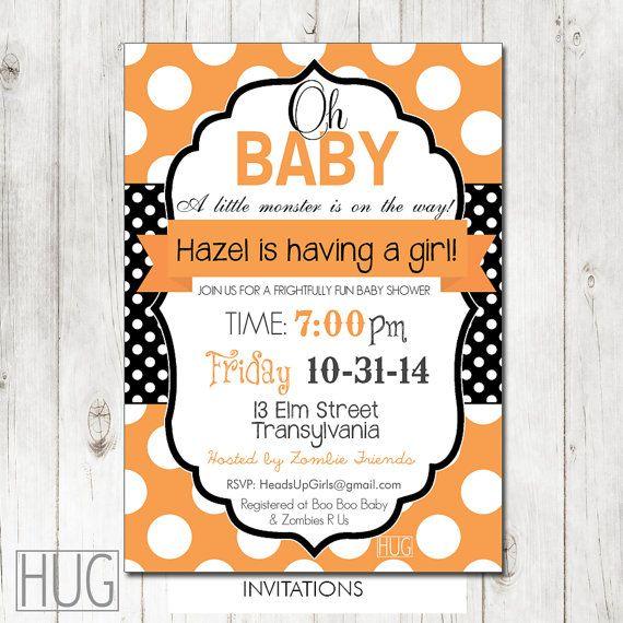 22 best Halloween Baby Showers images on Pinterest Halloween baby