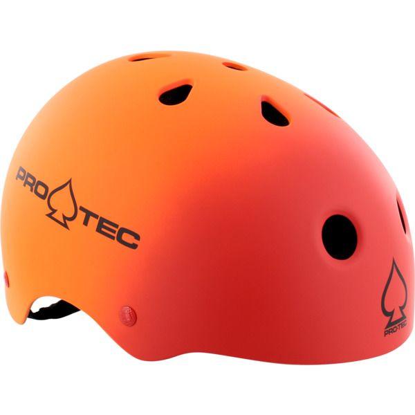 PRO-TEC Classic Fade Red/Orange Skateboard Helmet - now available at Warehouse Skateboards! #whskate #skateboarding