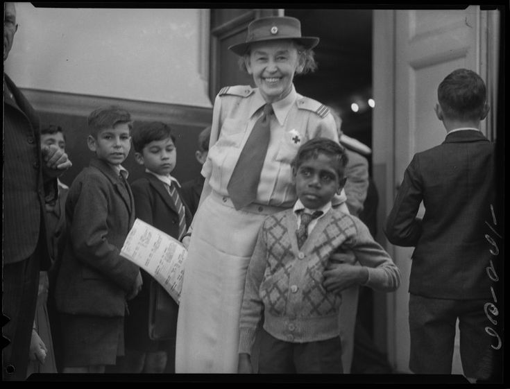 241484PD: A Red Cross event with disabled people and children, Perth, 2 November 1951  http://purl.slwa.wa.gov.au/slwa_b3760563_1