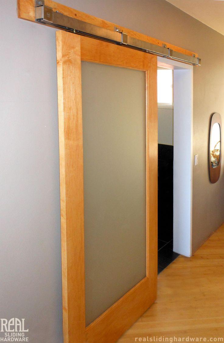 Master Bathroom Entrance Barn Door.