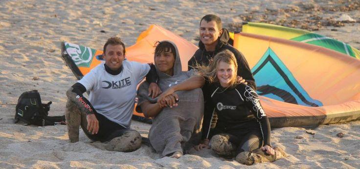 Urlaub kitesurfen lernen im Sardinien mit unser verein
