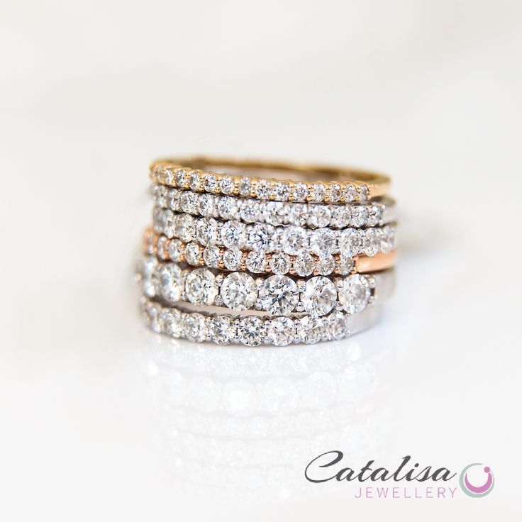 Eternity Bands galore!