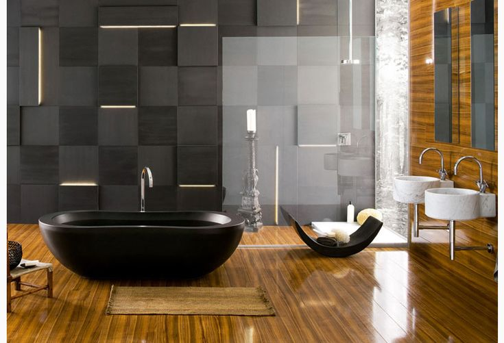 Bathrooms aren't usually where one likes to hang out, but this may change your mind.. #LuxuryLiving #Lazzoni Check us out at @LazzoniNYC