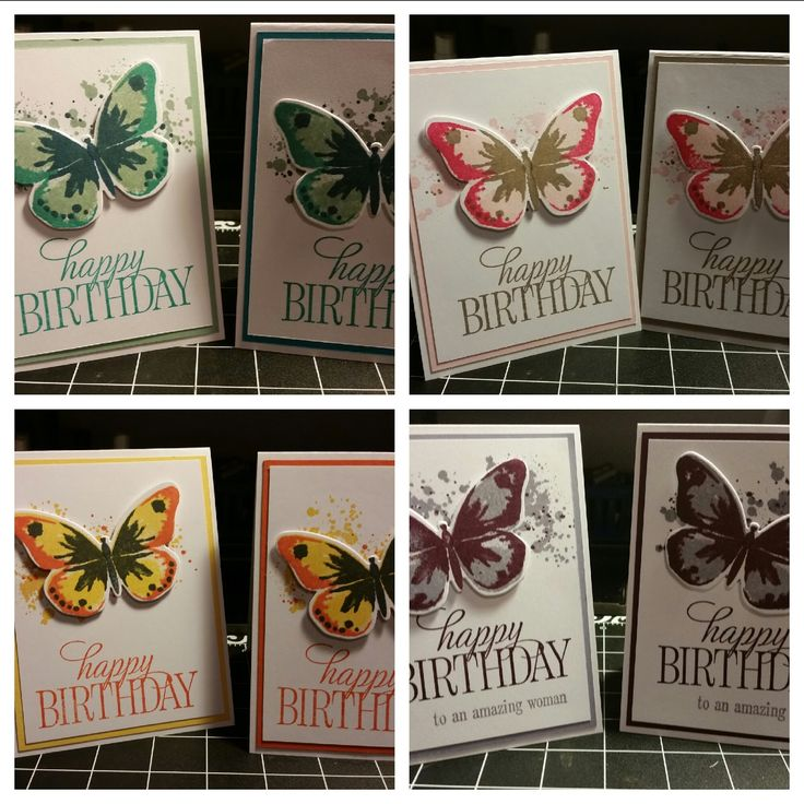 Stamp with Roberta: Watercolor Wings