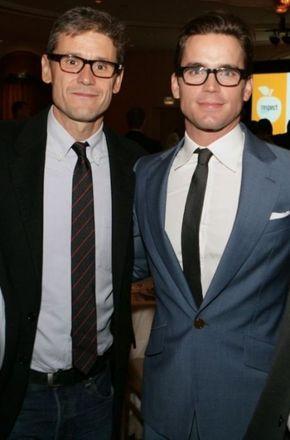 Matt Bomer and husband Simon Halls