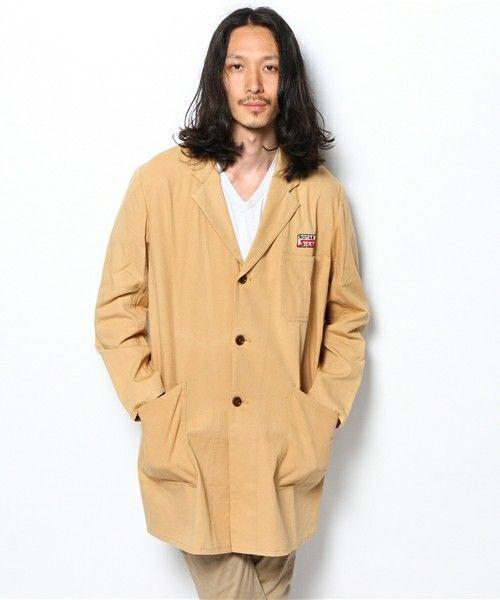 色を2色に抑えたコーデ術。春夏のファッション アイテム メンズショップコート コーデを集めました。