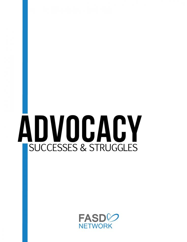 A caregiver created resource for Advocating for individuals living with FASD #FASD