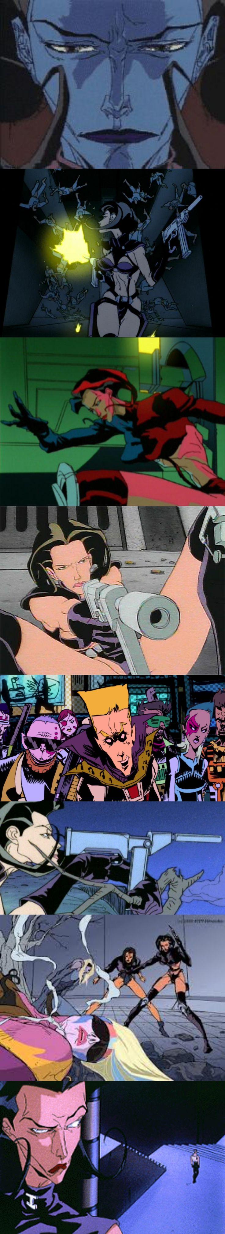 Aeon Flux-this cartoon made Liquid Television.