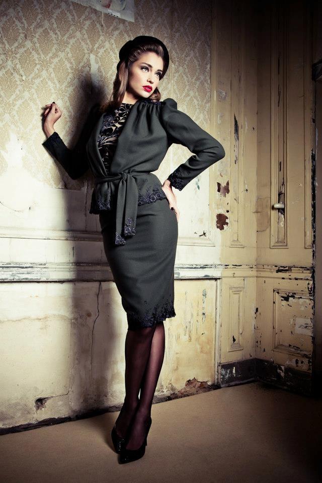 Vintage Fashion Style 2012