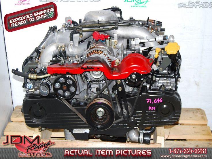 Impreza RS 2.5L EJ253 Replacement Engine, JDM EJ203 2.0L SOHC 2004 Motor - 2004.  Find this item on our website: https://www.jdmracingmotors.com/engine_details/2248  Tags: #jdm #jdmracingmotors #jdmsubaru #ej201 #ej20 #ej203 #impreza #imprezars #jdmimpreza