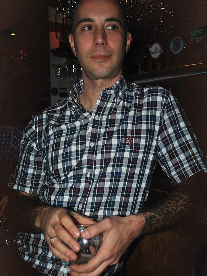 Alberto from Shots in the Dark wearing the Original shirt OldBoy