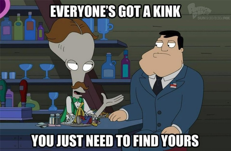 American Dad - Roger & Stan