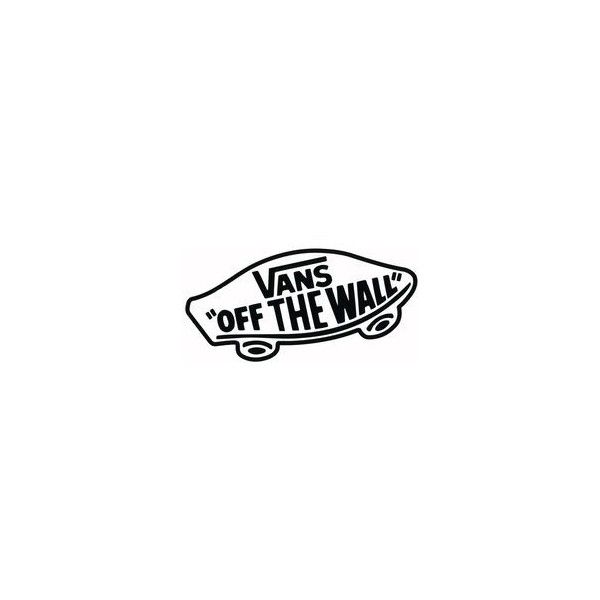VANS Off The Wall Sticker ❤ Liked On Polyvore Featuring Home And Home Decor Part 36
