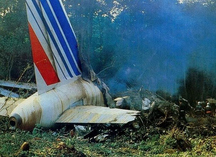 CFIT: Air France Flight 296 (1988). Crashed at Mulhouse–Habsheim Airport, France. Initial climb (Airshow). Deaths 3
