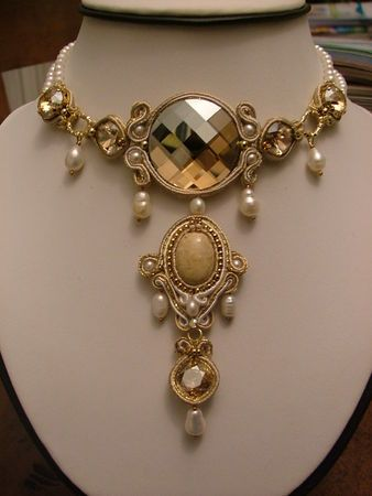 Another stunning Soutache necklace