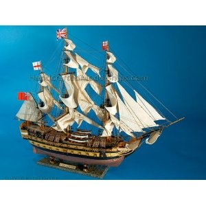 "HMS Leopard Limited 36"" - HMS Leopard - Model Ship Wood Replica - Not a Model Kit (Toy)  http://www.howtogetfaster.co.uk/jenks.php?p=B002YLM07E  B002YLM07E"