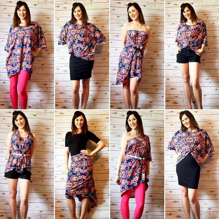 I love this style tip featuring eight ways to wear an Irma tunic! Which one is your favorite? #LuLaRoeIrma #LuLaRoeLeggings…