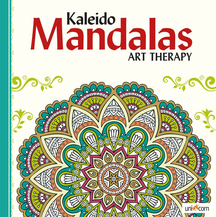 Kaleido Mandalas Art Therapy WHITE