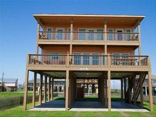 Crystal Beach House Al Shalom 5 Beauty And The Bolivar Peninsula Galveston Tx 4 Bedrooms 3 Bathrooms Sleep