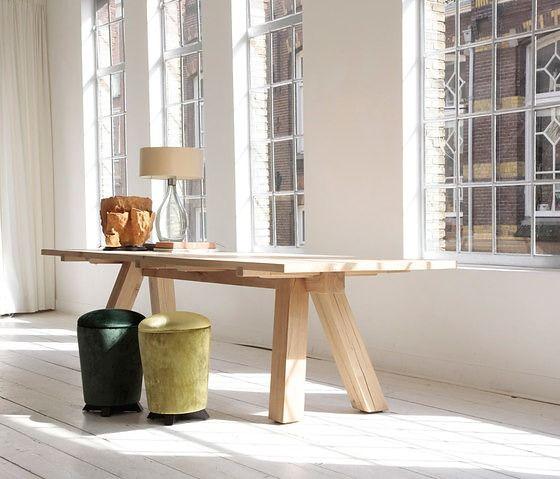 Bart Lens Lens Table   Solid Oak Dining Table. #VanRossum #BartLens