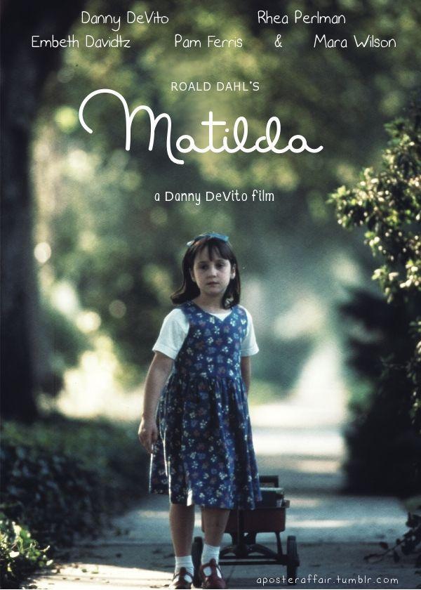 Matilda (1996)  Director: Danny DeVito  Mara Wilson, Danny DeVito, Rhea Perlman, Pam Ferris, Embeth Davidtz