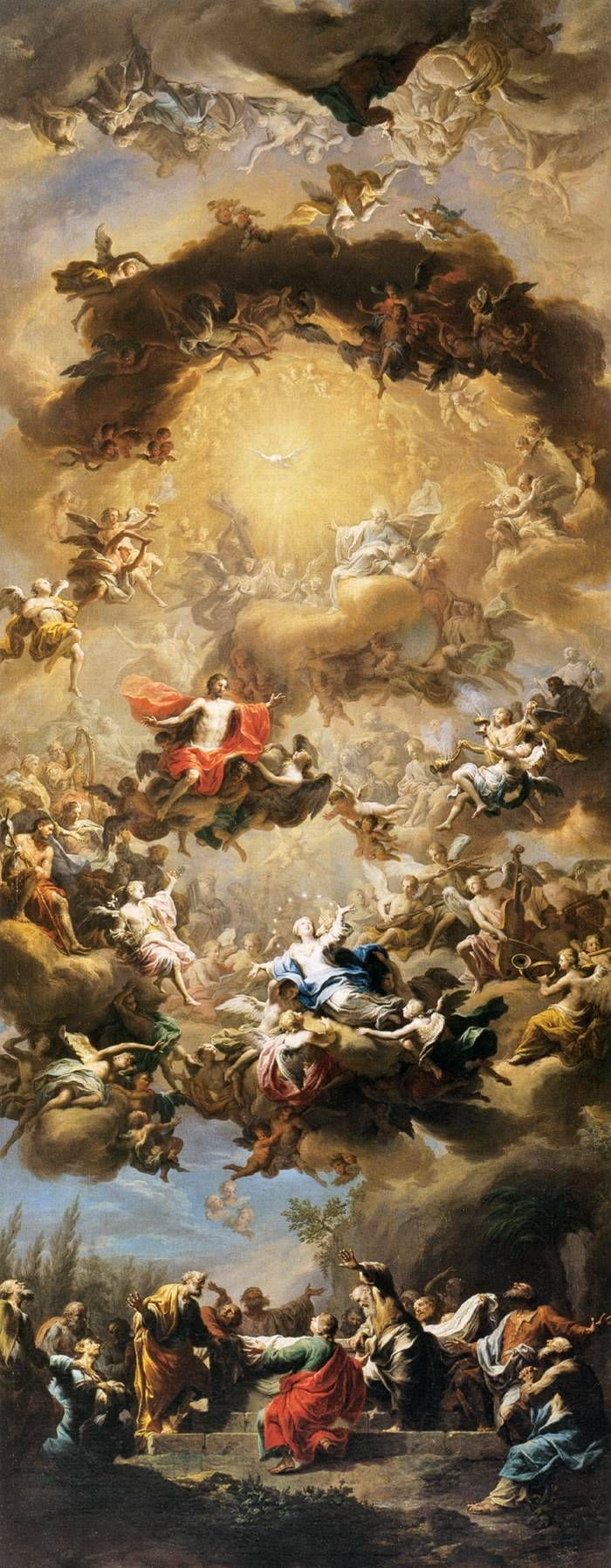 Mary Our Hope Chi The Rho The Assumption Of The Blessed Art Wallpaper Baroque Art Art