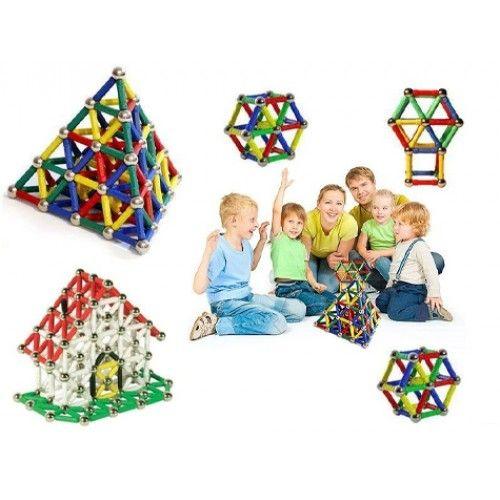 111 Parça Manyetik Lego Seti (Tk-m111)