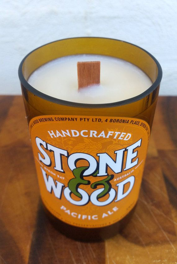 Hey, I found this really awesome Etsy listing at https://www.etsy.com/au/listing/275198898/stone-and-wood-beer-bottle-soy-candle