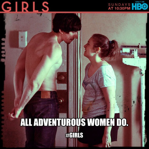 Marvelous  GIRLS HBO Time to watch girls with my hubby Ok wait