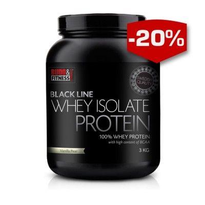 Budo & Fitness nya Black Line 100% Whey protein isolat med hög halt av BCAA. Vassleisolat är mer filtrerat än vanligt vasslekoncentrat. Det gör att man får bort mer fett, men framför allt stora delar av laktoset. Det ger ett snabbt upptag och som ökar återhämtningen efter ett hårt träningspass. Black Line 100% Whey protein ger dina muskler energi med byggstenar som stimulerar din muskeltillväxt. Black Line 100% Whey protein fungerar även som ett proteinrikt mellanmål. Finns även att köpa…