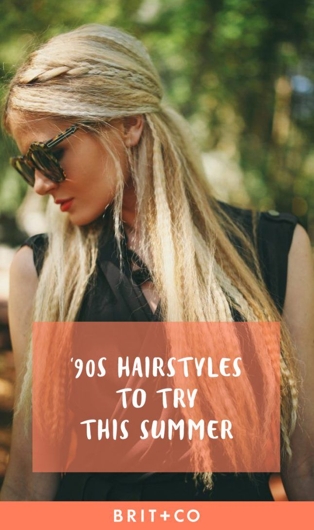 Save this for the prettiest '90s hairstyles that are perfect for the summer.